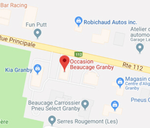 Google map occasion beaucage granby